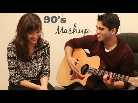 90s Bollywood Mashup | Shirley Setia ft. Arjun Bhat | (LIVE ACOUSTIC) - YouTube