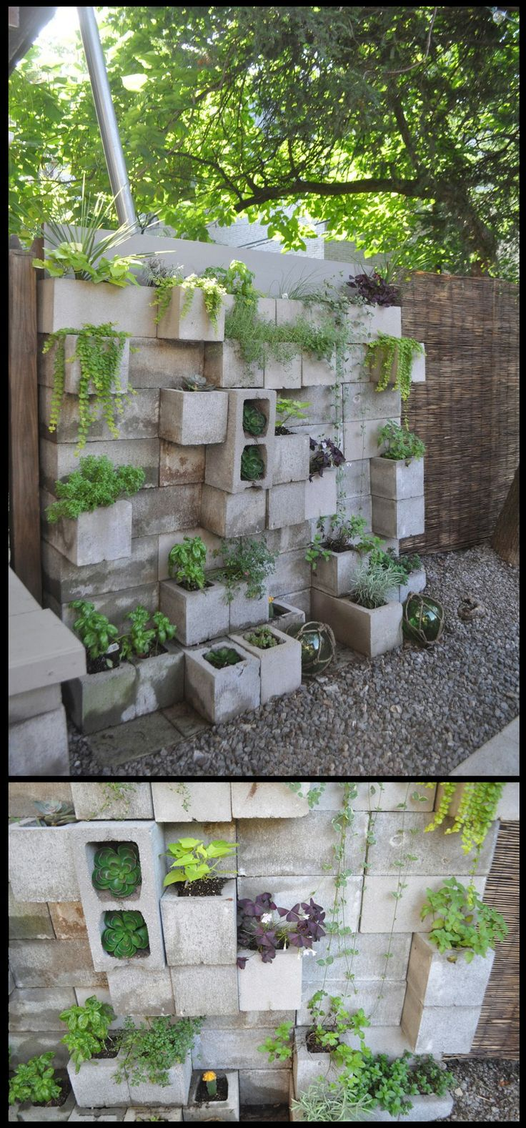 16 best retaining walls yes retaining walls images on pinterest retaining walls insect - Cinder block garden uses ...