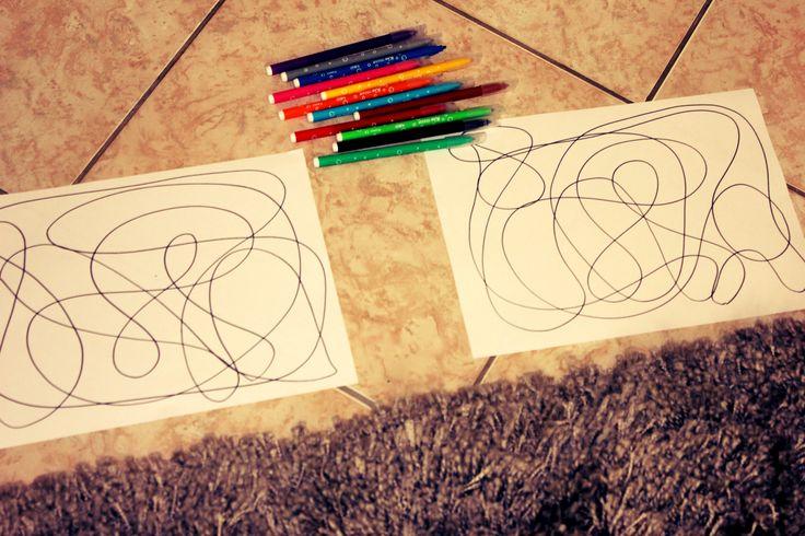 Coloriage à deux - activité maman et enfant (1)