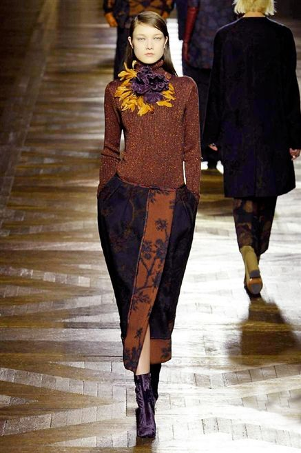 DRIES VAN NOTEN AW2015 FACES Magazin http://www.faces.ch/runway