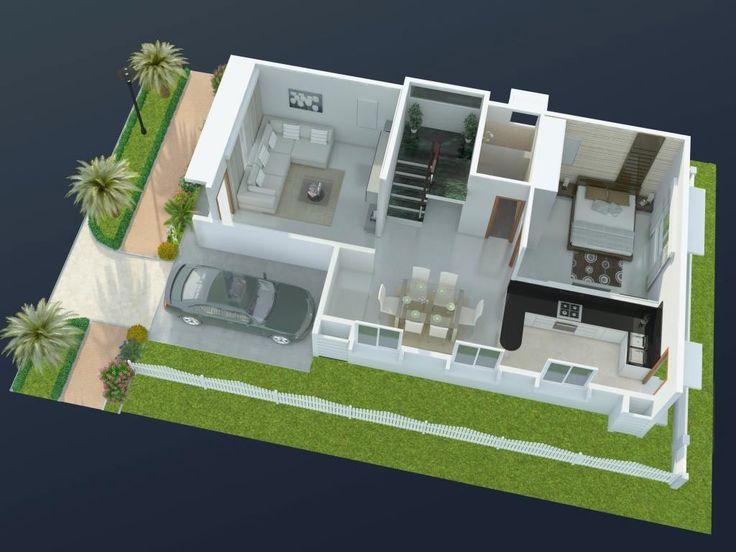 80 Best 3d Floor Plans Images On Pinterest Architecture Floor Plans And Models