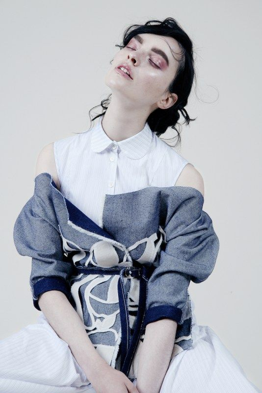 amanda yam, eco, organic, denim, designer, fashion, editorial, lookbook,