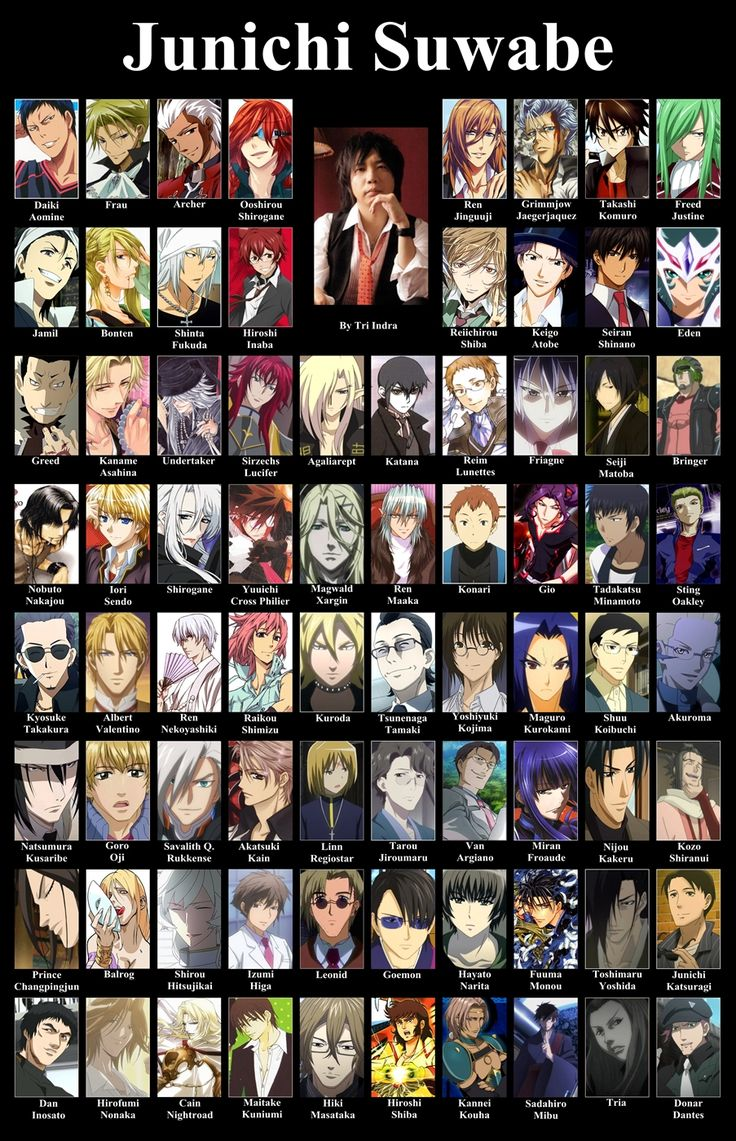 Junichi Suwabe. Love him as aomine from Kuroko's bball, Yamato Hotsuin from devil survivor 2, reim from Pandora Hearts, and Matoba from Natsume Yuujinchou (to name a few)