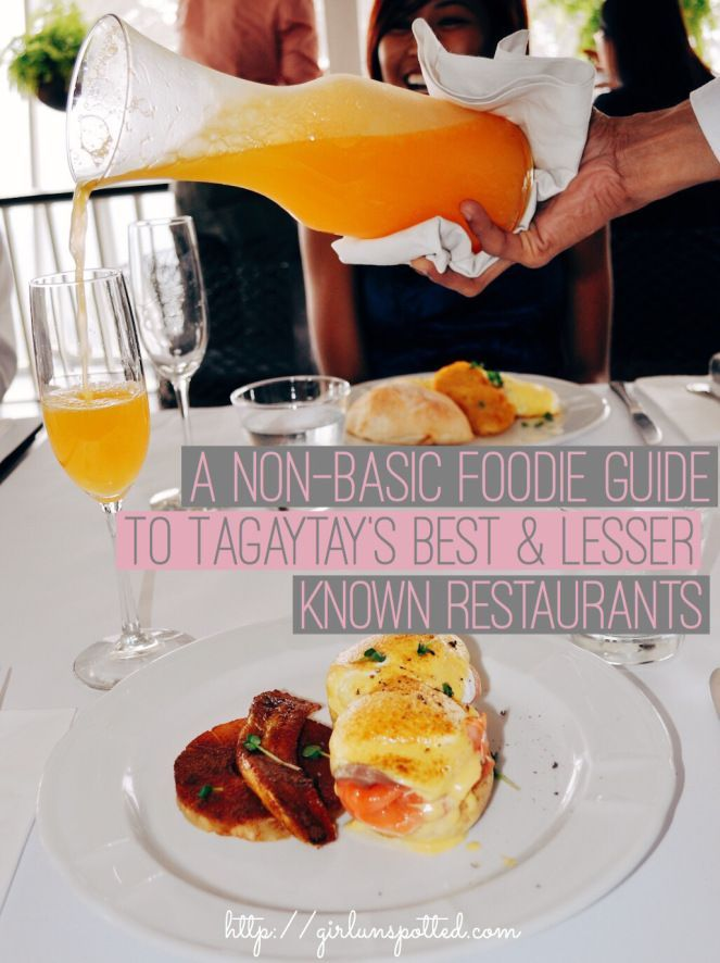 Tagaytay, Philippines: Your guide to the best lesser known restaurants: