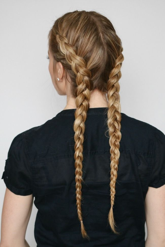 easy to do hair styles best 25 two braids ideas on 3939