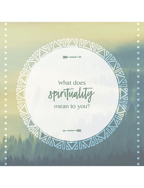What does spirituality mean to you? Soul to Soul conversation cards.