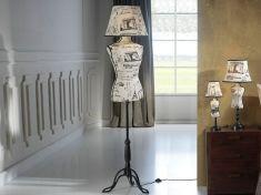 Lampada da terra di design : Collezione VOGUE-PARIS