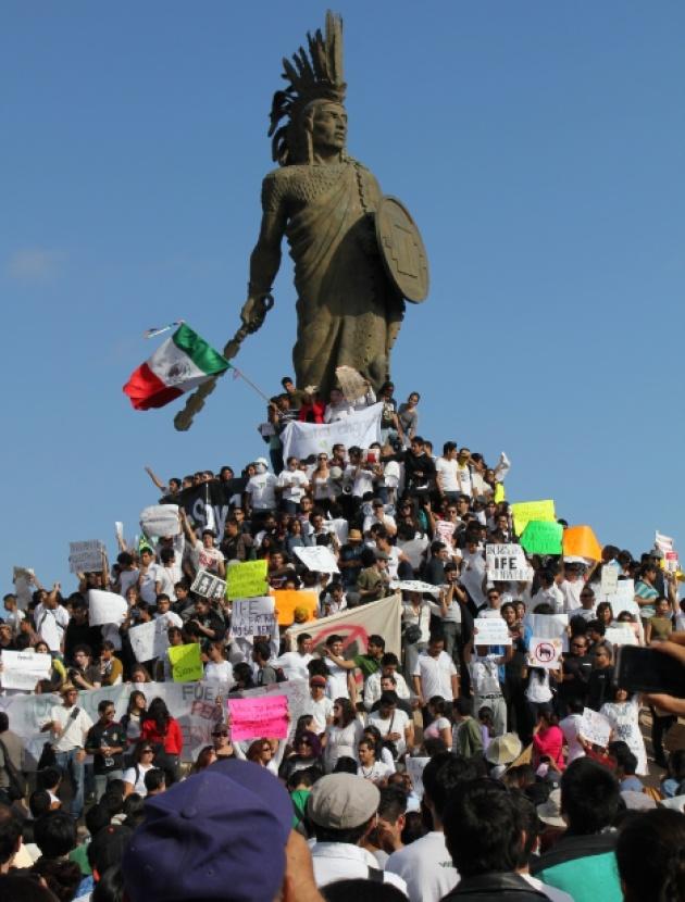 Movimiento #YoSoy132 toma las calles de Tijuana - Noticias - SanDiegoRed