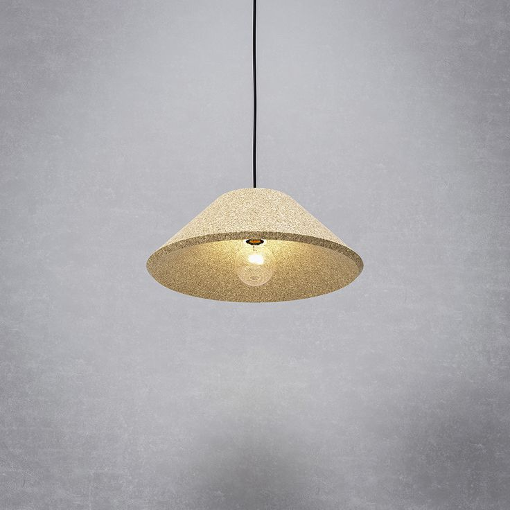 CAPITANO   DARK #lighting #suspended #cork #darlings dia 48cm (195 x 480) #new #design DARK studio   dark.be