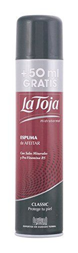 La Toja Classic Shave Foam 250ml shave foam by La Toja Review