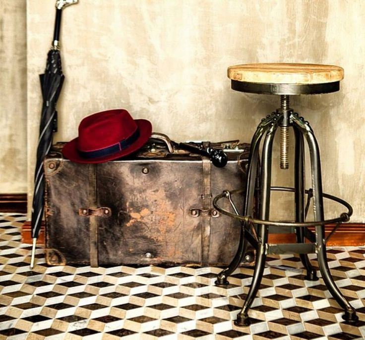 #Industrial #iron #stool in stock for $189  http://www.stoolsandchairs.com.au/industrial-iron-stool-black/