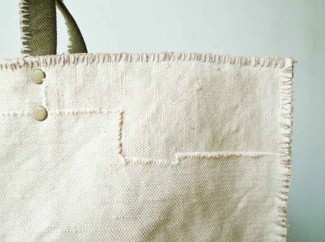 Crudos de la bolsa de retazos | Iichi (Iichi) | venta y compra de bienes trabajo hecho a mano del arte hecho a mano