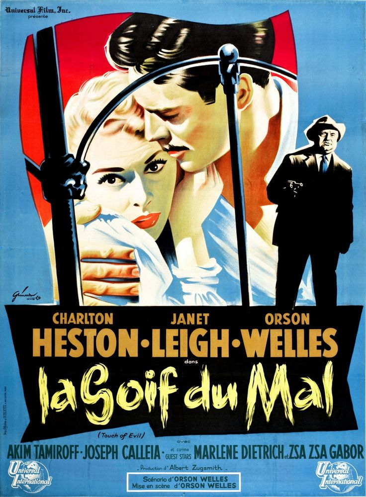 """""""La Soif du mal """"Orson Welles"""