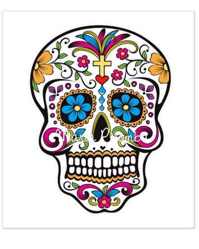 Tag Para Doces Caveira Mexicana Para Imprimir Pesquisa