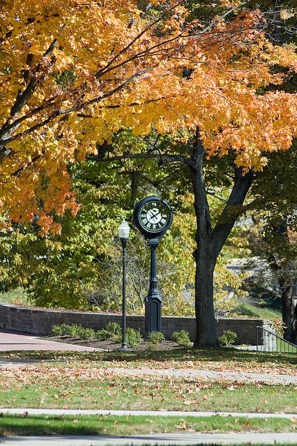 Denison campus, Granville Ohio - Fall 2003