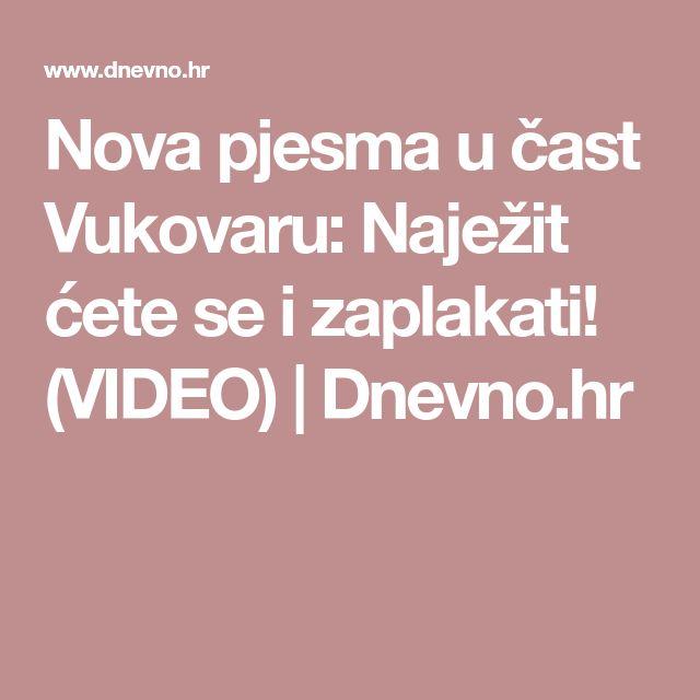 Nova pjesma u čast Vukovaru: Naježit ćete se i zaplakati! (VIDEO) | Dnevno.hr