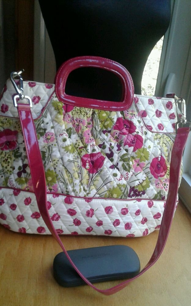 NWOT Vera Bradley Purse Large Poppies, Posie Rare? Ltd Edition Crossbody Handbag #VeraBradley #crossbodyhandbag