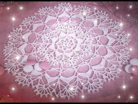 Serwetka na szydełku Part1 - Crochet doily
