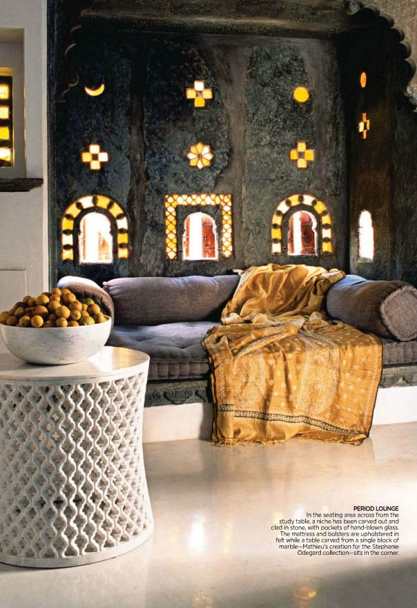 Indian homes indian decor traditional indian interiors for Home decorating materials