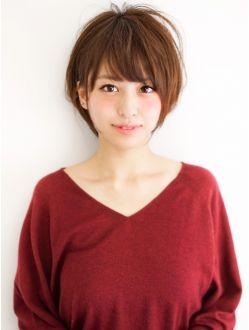 アフロートジャパン(AFLOAT JAPAN)ATLOAT『菅谷』ふんわり愛され小顔ショートヘア