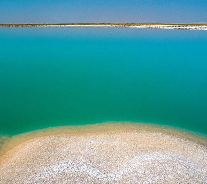 Laguna Cejar is a sink hole lake in the Atacama Salt Flat, a few kilometers away from the town of San Pedro, where our Hotel de Larache is located. It has a 40% concentration of salt, which gives a floating effect, just like in the Dead Sea.