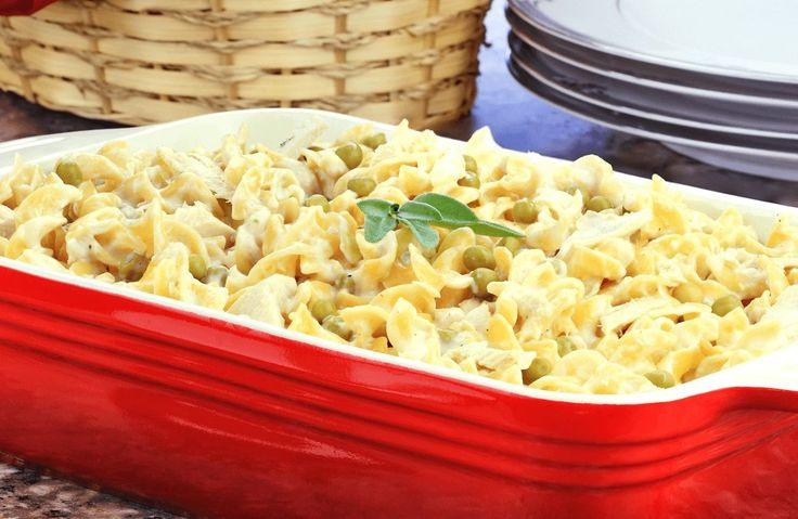 Awesome 6 point Campbell's Tuna Noodle Casserole