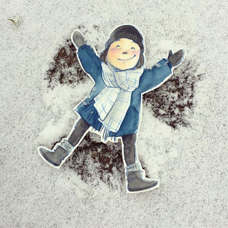 Der letzte Tag im Jahr bringt den ersten Schnee für's #papierfraeulein ❄️