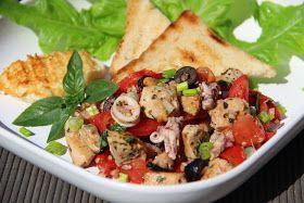 V kuchyni vždy otevřeno ...: Středomořský salát