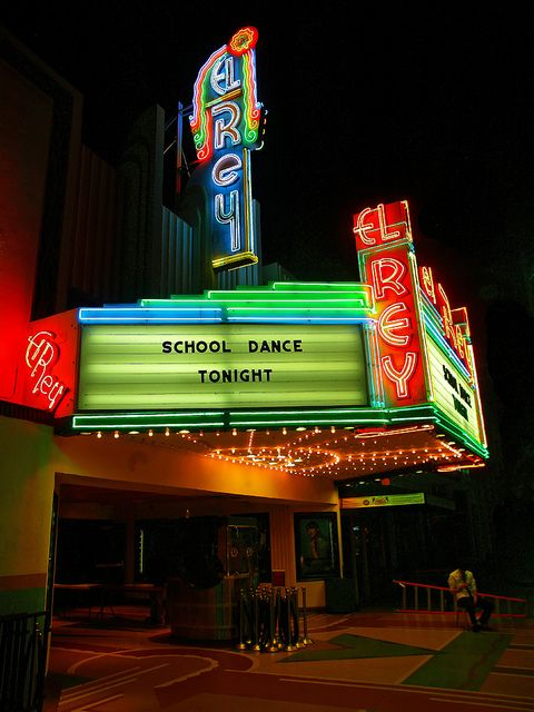 The El Rey Theatre in Los Angeles - Have all the beautiful theaters gone to LA?