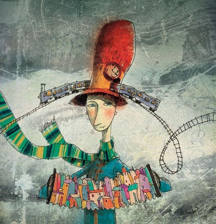 Poly Bernatene Whimsical art, Art inspiration