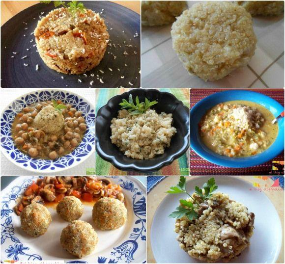 recetas vegetarianas, recetas para celíacos con quinoa