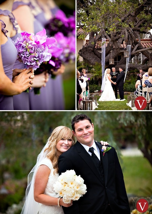 small intimate weddings southern california%0A Purple Wedding