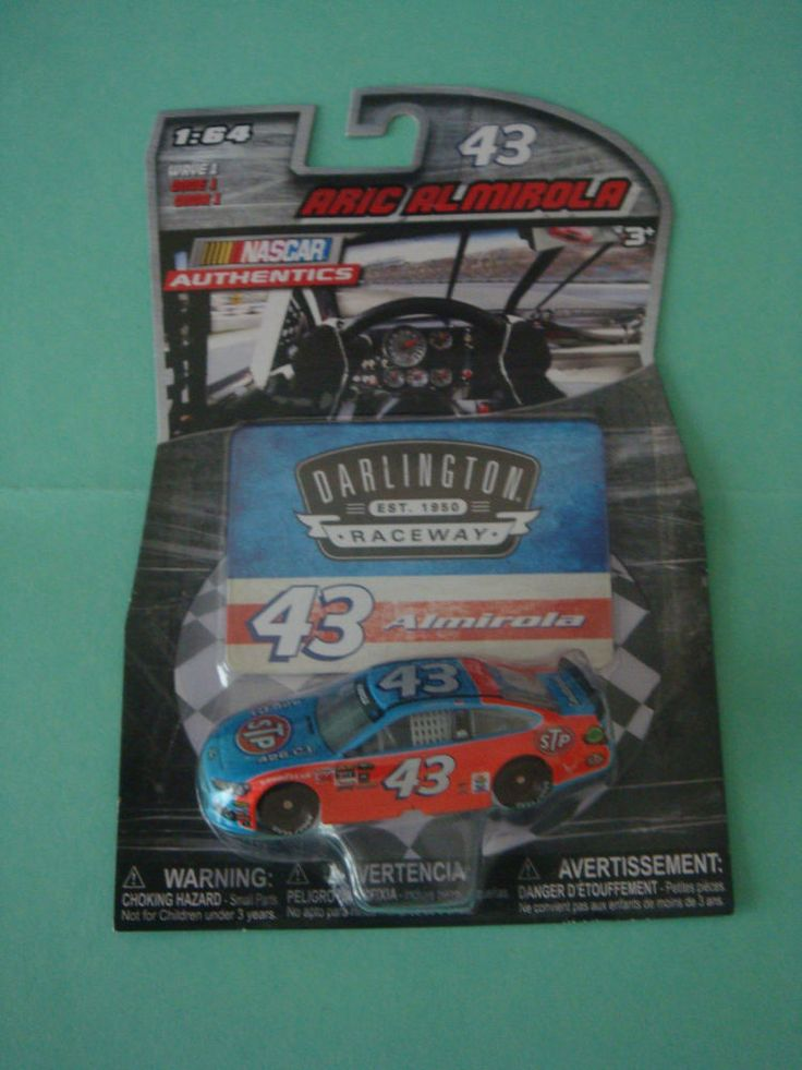2016 1/64 #43 ARIC ALMIROLA WAVE 1 STP DARLINGTON NASCAR AUTHENTICS