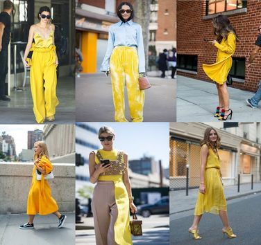 SS Fashion Trends 17 #yellow