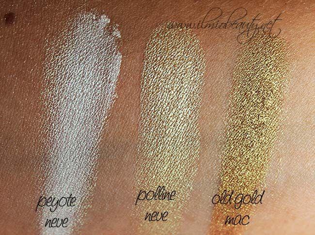 Neve Cosmetics nuova Duochrome: swatch e prime impressioni  #nevemakeup #duochrome #truccominerale #mineralmakeup #nevecosmetics #neveswatch #swatch #eyeshadow