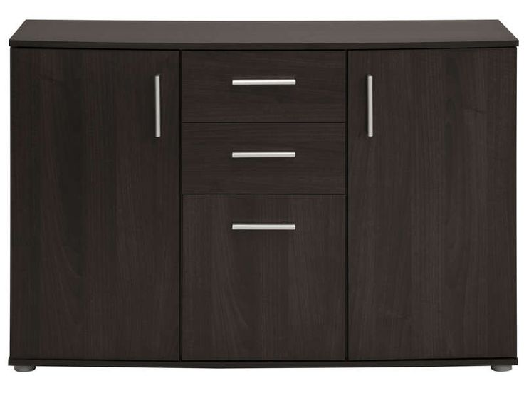 rangement 3 portes 2 tiroirs salto vente de buffet bahut vaisselier conforama hall d. Black Bedroom Furniture Sets. Home Design Ideas