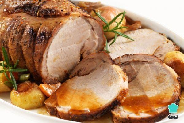 Receta de Lomo de cerdo en salsa agridulce