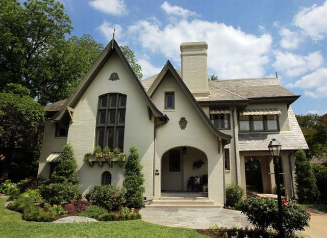 updated 1923 Tudor part of Swiss Avenue Historic District home tour
