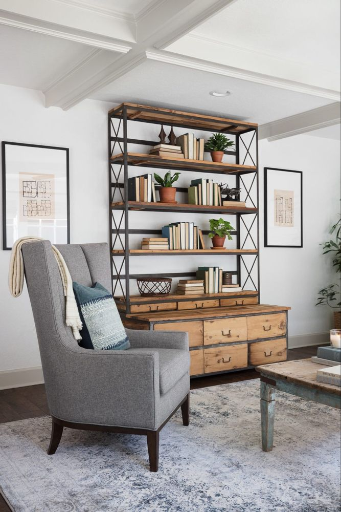 Chip Joanna Gaines Mountain Home Fixer Upper Living Room