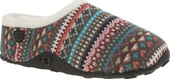 Homeys Multi Erin Womens Slippers Give your cold little tootsies exactly what they need this season as Erin arrives from Homeys. This super cosy slipper features a colourful fabric upper that represents your favourite knitted jumper.  http://www.comparestoreprices.co.uk/january-2017-8/homeys-multi-erin-womens-slippers.asp