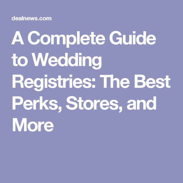 Best 25 best wedding registry ideas on pinterest for Best store for wedding registry