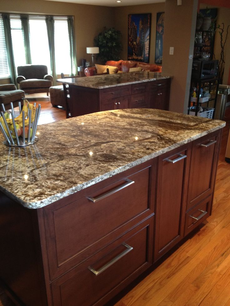 Granite counter tops add a polished look to your kitchen