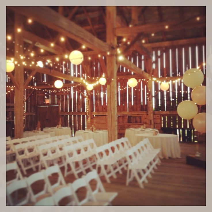 Beautiful ceremony space! Love the lanterns!