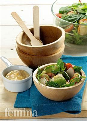 Femina.co.id: Salad Avokad Ayam Asap #resep #menudiet