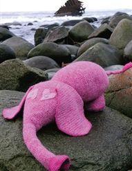 Elefanten Koseklumpen - gratis oppskrift fra Du Store Alpakka