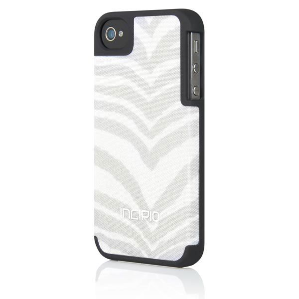 Incipio iPhone 4S Canvas Feather Case - Tiger Snow IPH-723