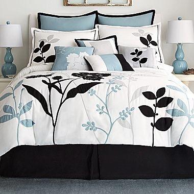 Shadow Leaf 10 Piece Comforter Set Jcpenney Master Bedroom Pinterest Comforter Sets