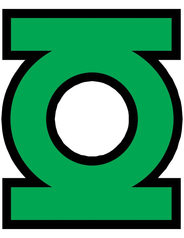 It's just a photo of Lucrative Green Lantern Clipart