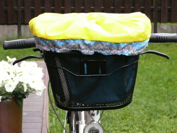 Super torba do koszyka rowerowego w TIMIMILI na DaWanda.com