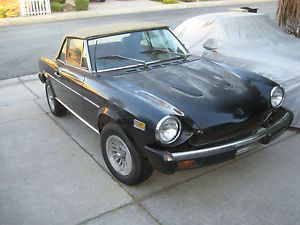 new offer   Fiat : Other Convertible 1976 fiat spider california parts car   Price: $590.0   Ends on : 2014-11-08 02:00:39     ...